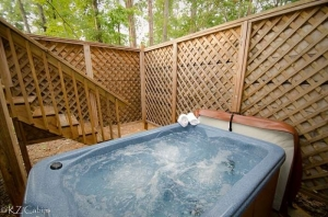 KZ Cabins Star Seasons Retreat 2 person hot tub photo